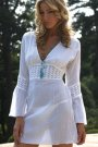 Melissa Odabash Chemise white