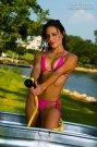Bikini Beach World microwear pink bikini thong