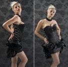 Angelic Weapons Burlesque Skirt Satin