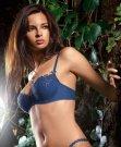 Jennifer Lamiraqui Valisere Blue Bra