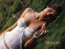 Jennifer Lamiraqui lingerie bridal white Valisere