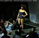 Between The Sheets Lingerie show 2007 Purple Corset