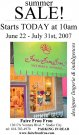 Faire Frou Frou Blowout Sale Summer
