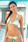 Jennifer Lamiraqui White Green Roxy Bikini