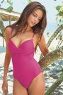 Jennifer Lamiraqui Pink Swimsuit