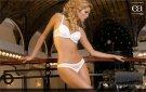 ea Lingerie White Swarovski detail bra