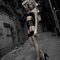 Lascivious industrial style luxury lingerie