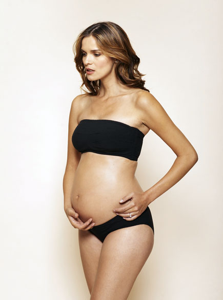 Amoralia Strapless Maternity Lingerie Set