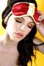 Patrick and Skinner Lingerie - Rhubarb Eyemask