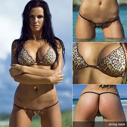 wicked weasel leopard bikini