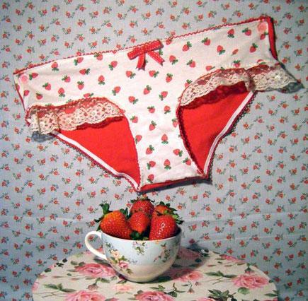 Berry Panties BambiLion Lingerie