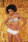Ponta Brasil Light Print Jewel Bikini