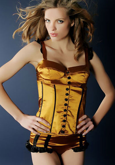 Showgirl Boned corset SONATA