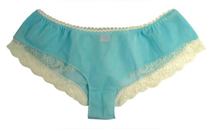 Fifi Chachnil Shorts with Chantilly lace trim