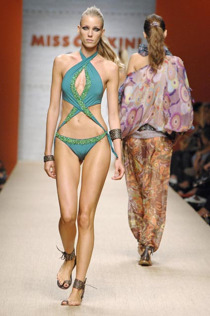 Miss Bikini 2008 Catwalk Show Milan
