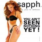 Sapph Black Bra and Thong Set SpringSummer 2008