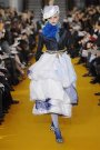 Christian Lacroix on the catwalk