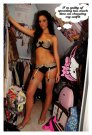 Kriss Soonik lingerie set outfit