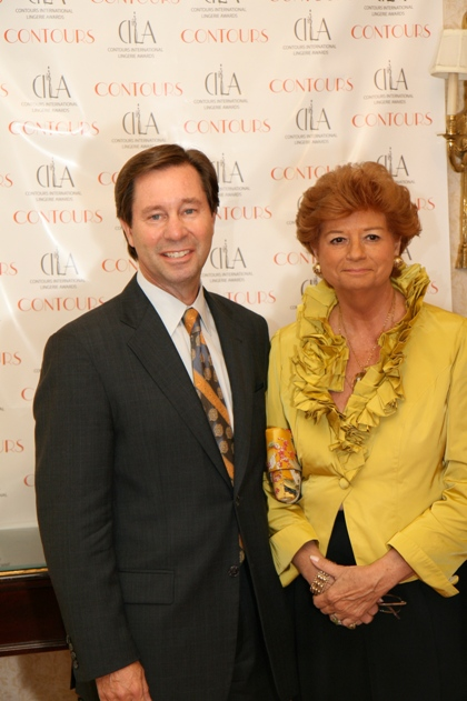 CILA Gala Red Carpet - Robert Vitale and Gwen Widell - Wacoal