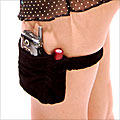 A Little Lingerie Company cell phone garter