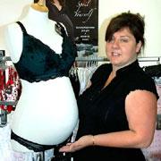 Amanda Bere and HOTmilk mannequin