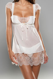 Letters of Marque Noir Empire Babydoll