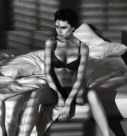 Victoria Beckham for Armani Underwear