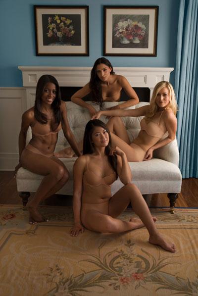 MySkins Lingerie Models