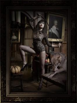 Agent Provocateur Iona bodysuit on Daisy Lowe