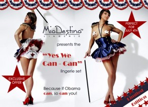 Mio Destino Yes We Can-Can Lingerie Set