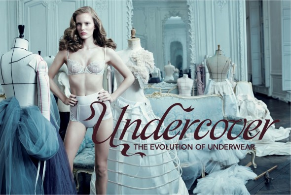 """""""Undercover: The Evolution of Underwear"""" at the Fashion and Textile Museum in London"""