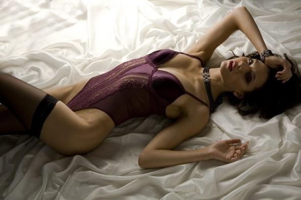 Janet Reger Body Nightshade