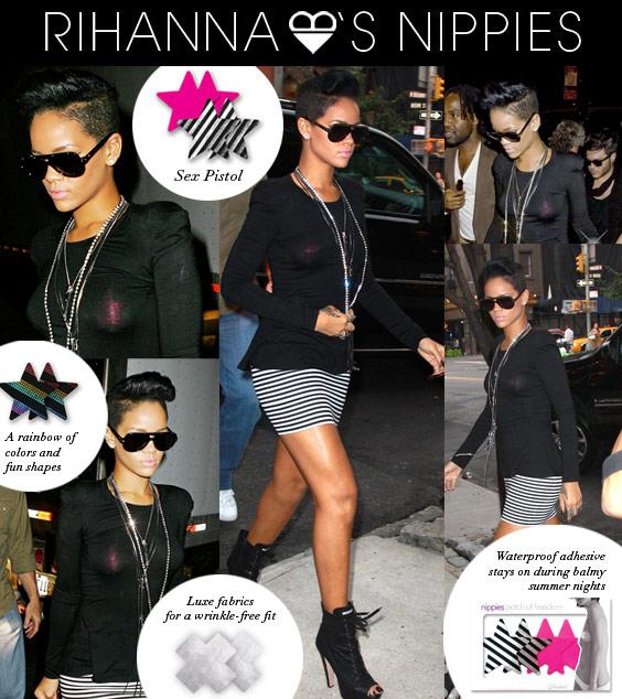 Rihanna in Bristols 6 Nippies