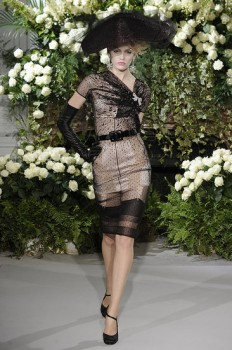 Secrets in Lace, Dior Runway Show