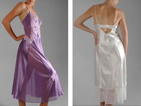 Rhonda Shear nightgowns