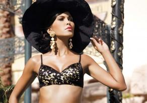 Meriell Club Black-Gold Bikini