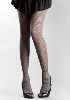 DKNY Chevron Net Tights