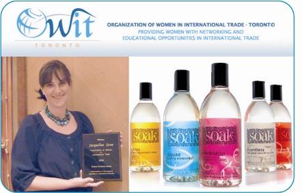 Soak- OWIT award