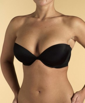Black plunge. Sizes 32A to 38D (UK sizes) £24. Available at Debenhams and Ultimo.co.uk.