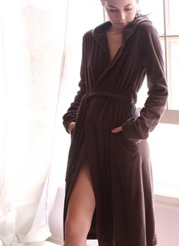 Stellina Terry Hooded Robe