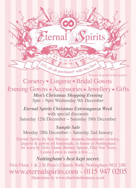 Eternal Spirits Sale