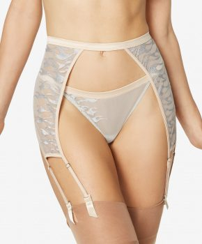 Embroidered garter belt Moyo